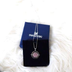 Swarovski Crystal Reversible Pendant Necklace